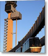 Skytrain Metal Print by Joe Burns