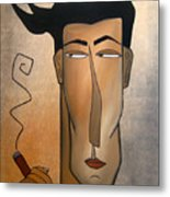 Smoke Break Metal Print by Tom Fedro - Fidostudio