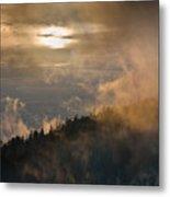 Smoky Mountain Metal Print by Steve Gadomski