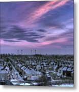 Snow 1 Metal Print by Terry Walters