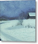 Snow Bound Metal Print by Garry McMichael