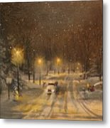 Snow For Christmas Metal Print by Tom Shropshire