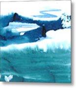 Snowy Egrets Metal Print by Mui-Joo Wee