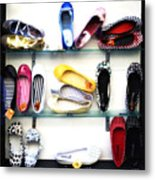 So Many Shoes... Metal Print by Marilyn Hunt