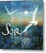 Soar Metal Print by Evie Cook