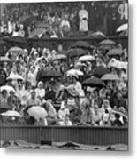 Soggy Supporters Metal Print by Ron Stone