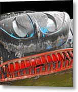 Some Cars Are Born Bad Metal Print by Christine Till