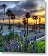 Southern California Sunset Metal Print by Sean Foster