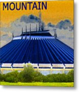 Space Mountain Metal Print by David Lee Thompson