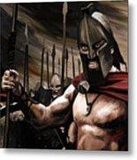 Spartans 300 Metal Print by James Shepherd