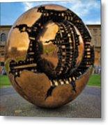 Sphere Within Sphere Metal Print by Inge Johnsson