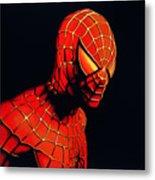 Spiderman Metal Print by Paul Meijering