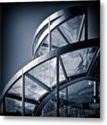 Spiral Staircase Metal Print by Dave Bowman