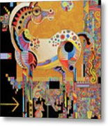 Spirit Stallion Metal Print by Bob Coonts
