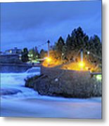 Spokane Falls Metal Print by Michael Gass
