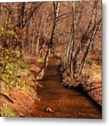 Spring At Red Rock Crossing Metal Print by Marilyn Smith