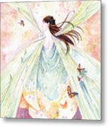Spring Blossoms Metal Print by Janet Chui