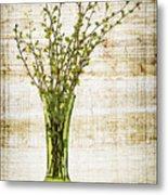 Spring Vase Metal Print by Elena Elisseeva