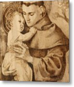 St. Anthony Metal Print by Conrad  Pinto