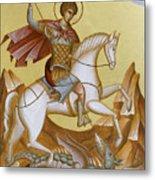 St George Metal Print by Julia Bridget Hayes