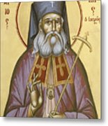 St Luke The Surgeon Of Simferopol Metal Print by Julia Bridget Hayes
