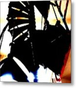 Stairs To Freedom Metal Print by Mike Grubb