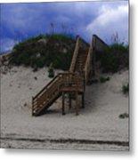 Stairway To Reality Metal Print by Linda Mesibov
