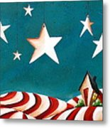 Star Spangled Metal Print by Cindy Thornton