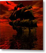 Starboard Tack Metal Print by Claude McCoy