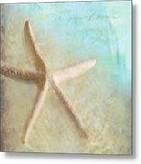 Starfish Metal Print by Betty LaRue