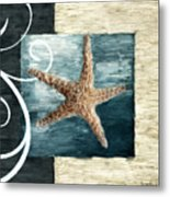 Starfish Spell Metal Print by Lourry Legarde