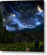 Starry Night Metal Print by Alex Ruiz
