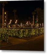 St.augustinelights1 Metal Print by Kenneth Albin