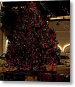 St.augustinelights4 Metal Print by Kenneth Albin