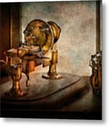 Steampunk - Gear Technology Metal Print by Mike Savad