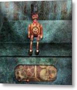 Steampunk - My Favorite Toy Metal Print by Mike Savad