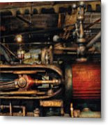 Steampunk - No 8431 Metal Print by Mike Savad