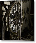 Steampunk - Timekeeper Metal Print by Paul Ward