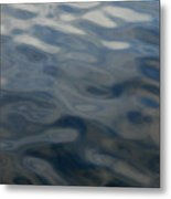 Steel Blue Metal Print by Donna Blackhall