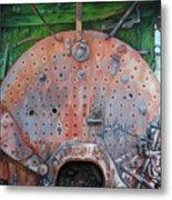 Steel Heart Metal Print by Chris Steinken