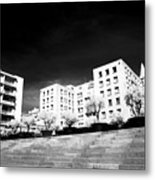 Steps In Marseille Metal Print by John Rizzuto