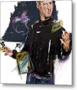 Steve Jobs Metal Print by Russell Pierce