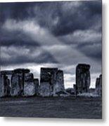 Stonehenge Metal Print by  Jaroslaw Grudzinski