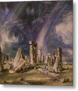 Stonehenge Metal Print by John Constable