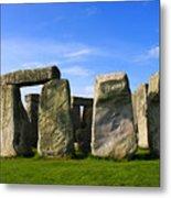 Stonehenge No 1 Metal Print by Kamil Swiatek