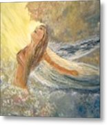 Storm Song Metal Print by J Bauer