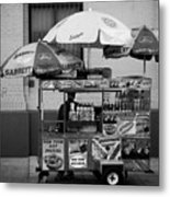 Street Vendor Metal Print by Darren Martin