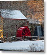 Sudbury Gristmill Metal Print by Susan Cole Kelly