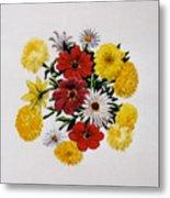 Summer Bouquet Metal Print by Dy Witt
