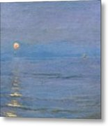 Summer Evening Metal Print by PS Kroyer